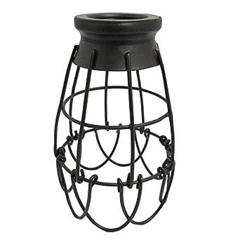 Portfolio 7.25-in H 4.62-in W French Bronze Wire Industrial Cage Pendant Light  sc 1 st  Amazon.com & Portfolio 7.25-in H 4.62-in W French Bronze Wire Industrial Cage ... azcodes.com