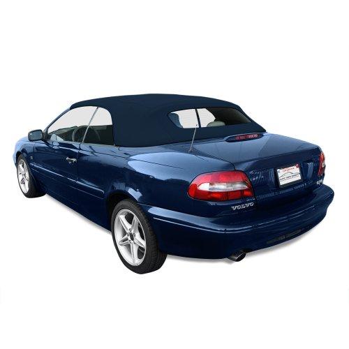 Sierra Auto Tops Volvo 1998-2006 C70 Cabriolet Convertible Top, TwillFast II Canvas, Blue