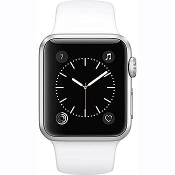 Apple Watch Series 1 38mm Smartwatch (Silver Aluminum Case White Sport Band) 1