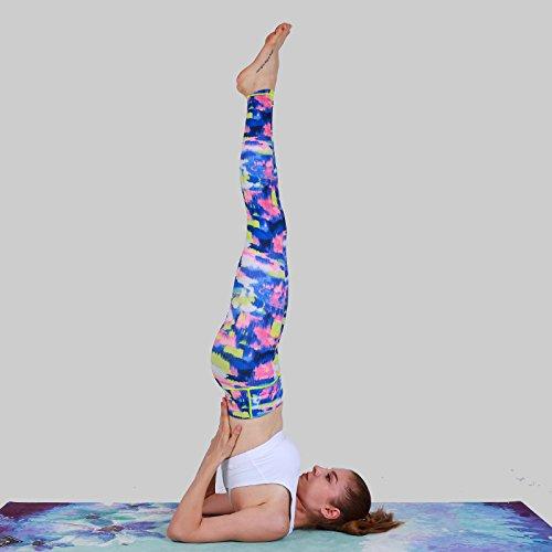 Yoga YOOMAT 8mm Bunte Rutschfeste Faltbare Yogamatten Für Fitness Slim Yoga Gym Übung Matten Sportmatte Outdoor Pads Fitnessmatte Tragbare Matten