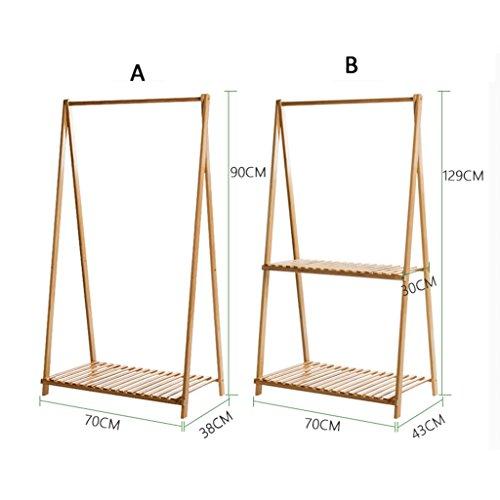 Étagère de fleur accrochante créative de bambou, support de de de fleur se pliante de Multi-couche de plancher, support simple de fleur de balcon ( Taille : A ) 34edff
