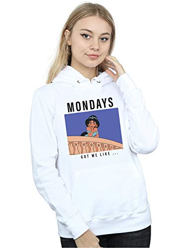 Me Princess Got Mujer Capucha Disney Mondays Jasmine Like Blanco wf6HcqTc
