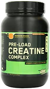 Optimum Nutrition Pre-Load Creatine Complex, Mandarin Orange, 4 Pound