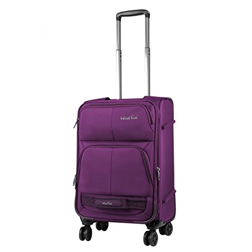 windtook-20-inch-expendable-spinner-carry-on-suitcase-luggage-with-spinner-wheels-purple