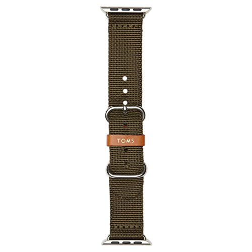 TOMS Apple Watch Band (Olive Green, 38mm)