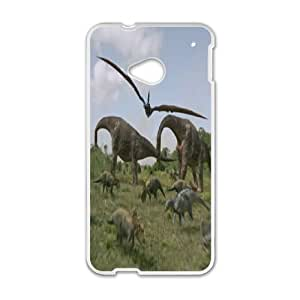 HTC One M7 Phone Case White Dinosaur Character Aladar WQ5RT7426134