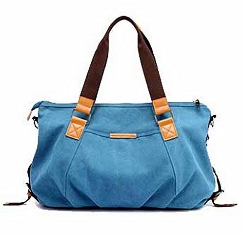 Mujeres de Bolsas VogueZone009 Azul Fin Escapadas Semana Mano de Bolsas CCAYBP180729 de de Hombro STBTqR1w