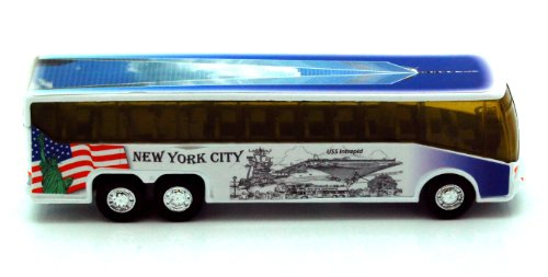 NYC Diecast Coach Bus 6