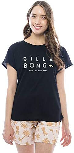 BILLABONG(ビラボン) 半袖 ラッシュTシャツ レディース 品番:AJ013-873 Mサイズ BLK(ブラック)