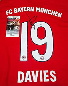 Alphonso Davies #19 Autographed Signed Memorabilia Fc Bayern