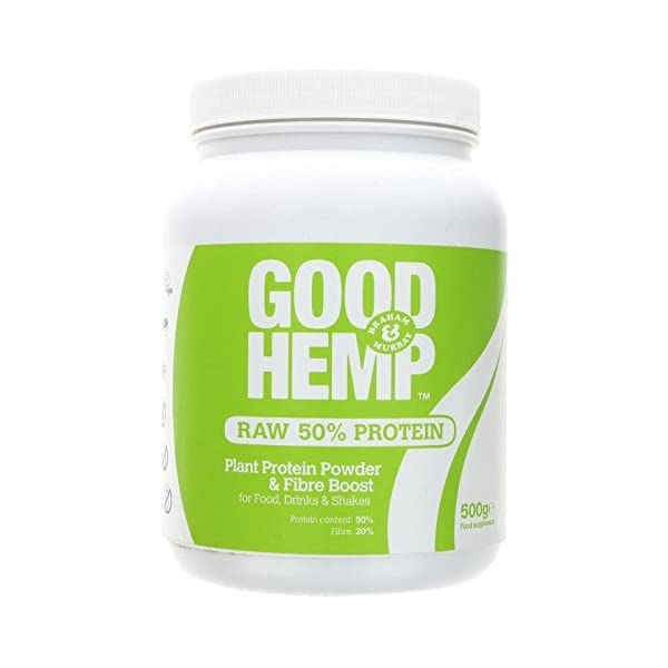 (10 PACK) – Hemp Hemp Natural Protein Powder Original 47% Protein| 500 g |10 PACK – SUPER SAVER – SAVE MONEY