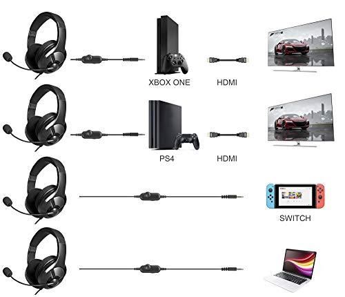 Amazon Basics Gaming Headset - Black