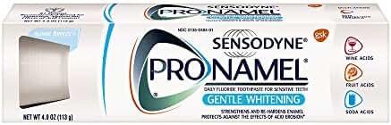 Sensodyne Pronamel Gentle Whitening Toothpaste, 4 Ounce Tubes (pack of 3)