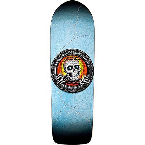 Powell-Peralta Pool Light Ripper Skateboard Deck -10x32.37 Blue/Orange - Assembled AS Complete - Powell Pool