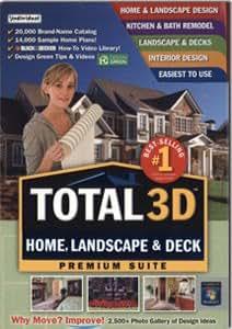 Total 3d home landscape deck premium suite - Total 3d home and landscape design suite ...