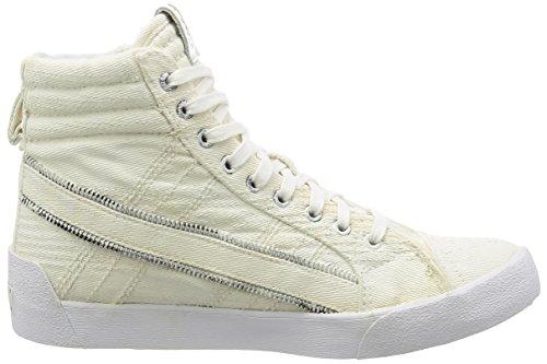 Diesel Mens D-velows D-string Plus I Fashion Sneaker Bianco