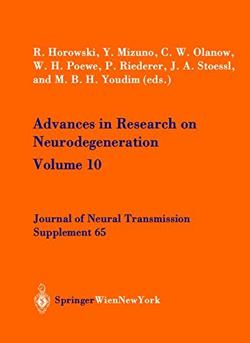 Advances in Research on Neurodegeneration: Volume 10 (Journal of Neural Transmission. Supplementa)