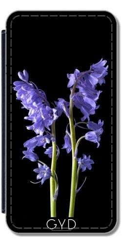 Leder Flip Case Tasche Hülle für Apple Iphone 7 Plus / 8 Plus - Jolie Glockenblume by LesImagesdeJon
