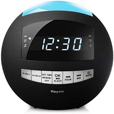 8-in-1 Bluetooth Alarm Clock Radio