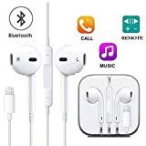 CulaLuva Earbuds,Microphone Earphones Stereo Headphones Noise Isolating Headset, Compatible with iPhone8/8 Plus/iPhone7/7 Plus and iPhone Xs/XS Max/XR/X Earbuds Earphones[1 Pack]