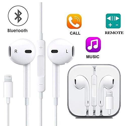 - SpeedScope Earbuds,Microphone Earphones Stereo Headphones Noise Isolating Headset, Compatible with iPhone8/8 Plus/iPhone7/7 Plus and iPhone Xs/XS Max/XR/X Earbuds Earphones[1 Pack]