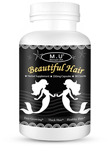 (Magic Herb King Focus on Hair Growth Thickness Health Stop Hair Loss Support Hair Beauty Capsules)