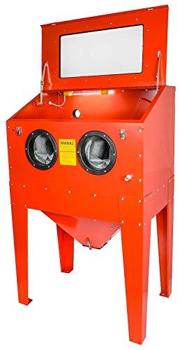 JEGS 81490 Vertical Sandblast Cabinet Top Load Work Area: 34 in. L x 22 in. D x