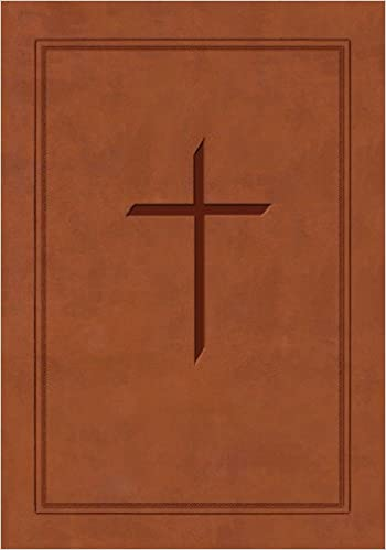The Ryrie ESV Study Bible Brown Soft Touch Red Letter (Ryrie Study