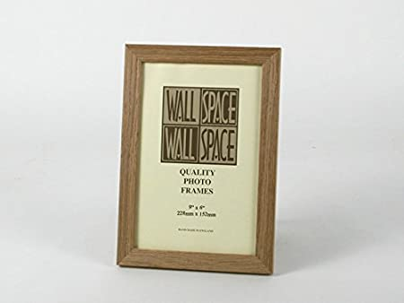 9 X 6 21mm Solid Oak Photo Frames Amazoncouk Kitchen Home