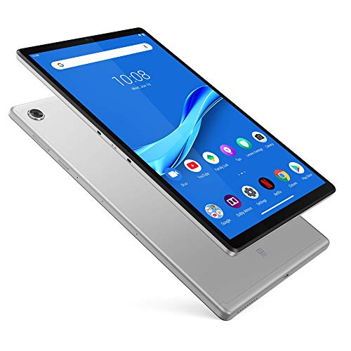 Lenovo M10 FHD Plus- Tablet de 10.3″ Full HD/IPS (MediaTek Helio P22T, 4 GB de RAM, 64 GB ampliables hasta 256 GB, Android 9, Wifi + Bluetooth 5.0), Platinum Grey