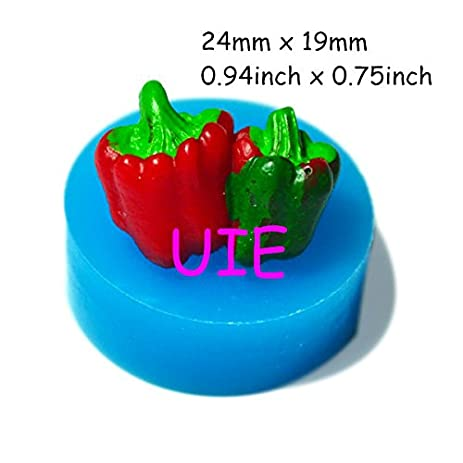 Amazoncom 004LBV Red Green Chili Pepper Silicone Mold Fondant