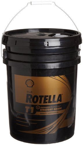 Shell ROTELLA 550019893 T1 50 Heavy Duty Engine Diesel Oil - 5 Gallon Pail