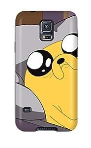 Galaxy S5 Adventure Time Print High Quality Tpu Gel Frame Case Cover