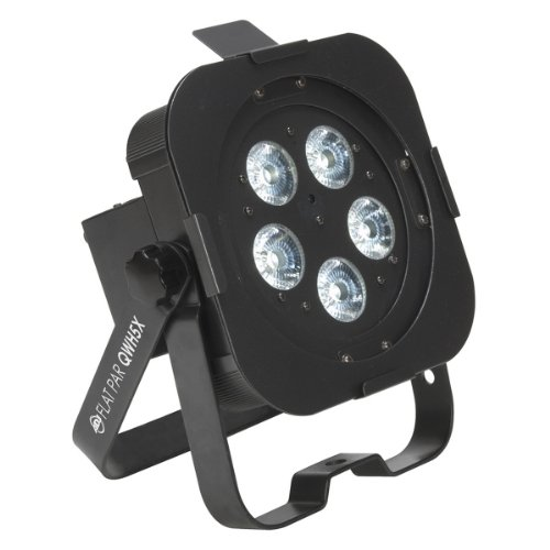 American DJ Flat PAR QWH5X | Low Profile Wash Fixture with 5x Quad LEDs by American DJ