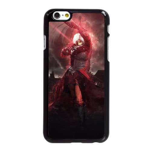 D0W05 devil may cry Z4Y1CL coque iPhone 6 Plus de 5,5 pouces cas de couverture de téléphone portable coque noire DC7VZI4GV