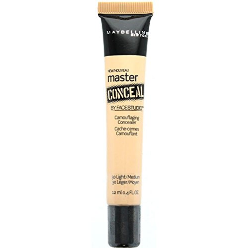 Maybelline New York Master Conceal by Facestudio, Light Medium 30 0.40 oz Pack of 4