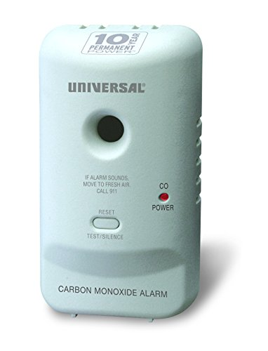 Universal Security Instruments MC304SB Carbon Monoxide Smart Alarm with 10