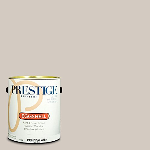 Prestige Paints P300-P-SW7029 Interior Paint and Primer in One, 1-Gallon, Eggshell, Comparable Match of Sherwin Williams Agreeable Gray, 1 Gallon, SW264-Agreeable