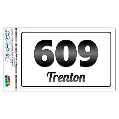 area-code-bw-window-sticker-609-new-jersey-nj-millstone-township-wrightstown-trenton