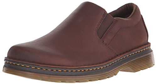 Dr. Martens Men's Boyle Slip-On Loafer, Dark Brown, 9 UK/10 M US ()