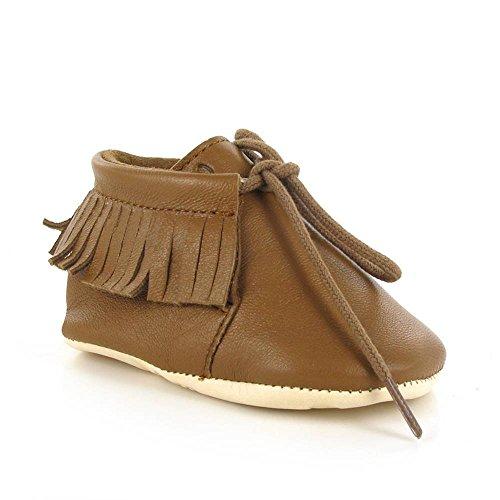 Easy Peasy Meximoo - Zapatillas de casa Bebé-Niños Marrón - Braun (019 Carambar)