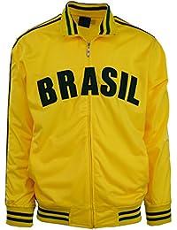 Mens Brazil/Brasil Track Jacket