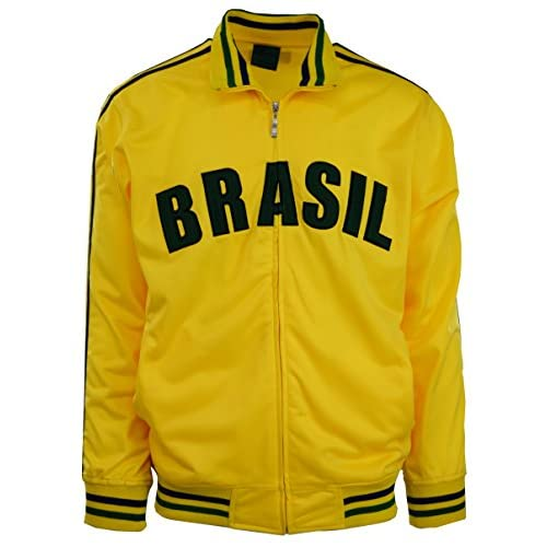 ChoiceApparel® Men's Brazil/Brasil Track Jacket for sale