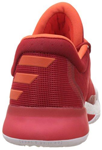 3a2cebaa1634 1 Basketballschuh Herren rot   weiß adidas Harden Vol. 1 Basketballschuh Herren  rot   weiß ...