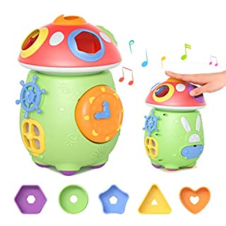 TUMAMA Musical Electronic Toys with Light and Sounds, Activity Play Centers Early Development Gifts for Babies,Infant,Toddlers,Boys,Girls,Newborn,Boys and Girls