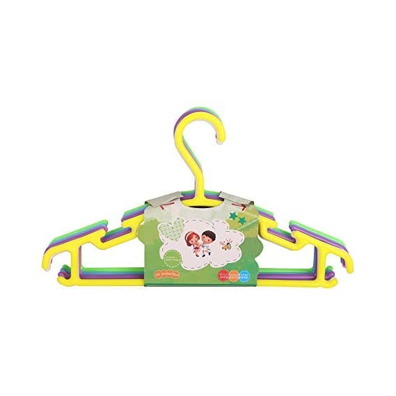 Teeny Weeny Plastic Hanger Baby Diaper Nappy Clothes Hanging Dryer with Clips - Portable Foldable Travel Laundry