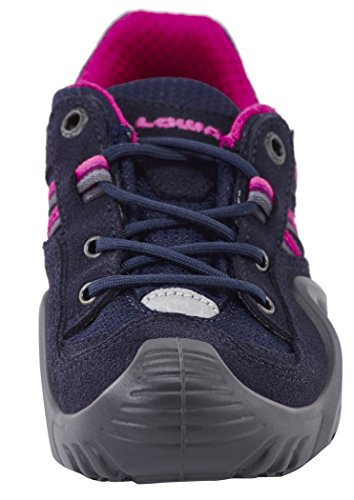 Simon Bleu marine Lowa Lo Enfant Chaussures Mixte rose de Randonnée II GTX qCdz6wC