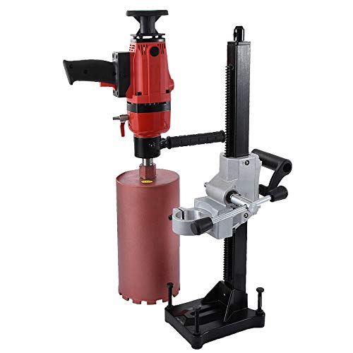 QWERTOUR Dual-Purpose Core Drill Machine for Wet Drilling Concrete | Complex of Hand held and Desktop Machine | 220v 1900W 166MM