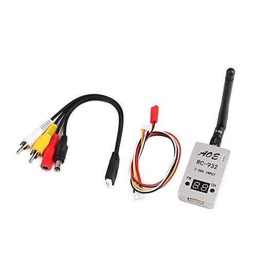 - Part & Accessories RC932 7-30V 5.8G 32CH Receiver Audio Video A/V RX w/Channel Display for RC Multicopter Car Video System FPV Aerial Photo