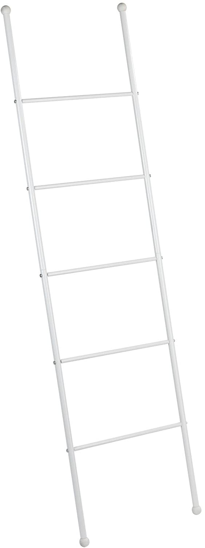 Wenko 22508100 Viva towel rail ladder, White, Stainless steel, 43 x 156.5 x 3.5 cm